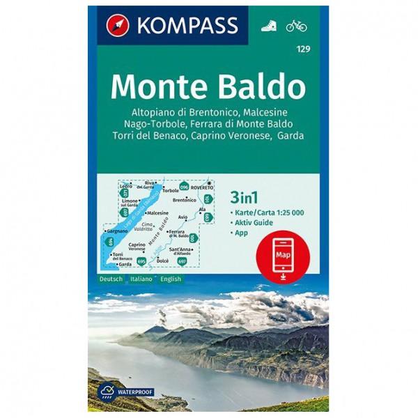 Kompass - Monte Baldo - Hiking map