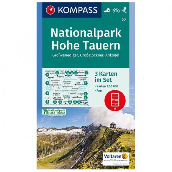 Kompass - Nationalpark Hohe Tauern, Großvenediger - Wandelkaarten
