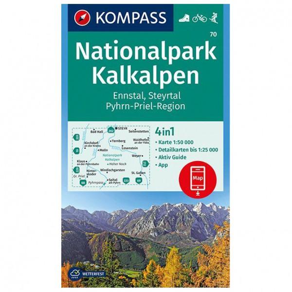 Kompass - Nationalpark Kalkalpen - Vandrekort