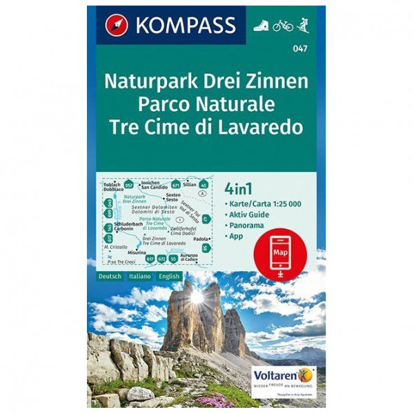 Kompass - Naturpark Drei Zinnen - Vandringskartor