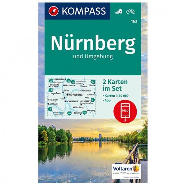 Kompass - Nürnberg und Umgebung - Wandelkaart