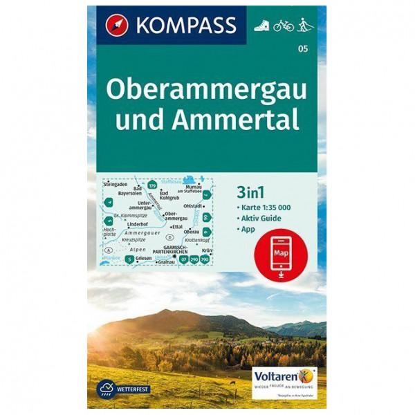 Kompass - Oberammergau und Ammertal - Vandrekort