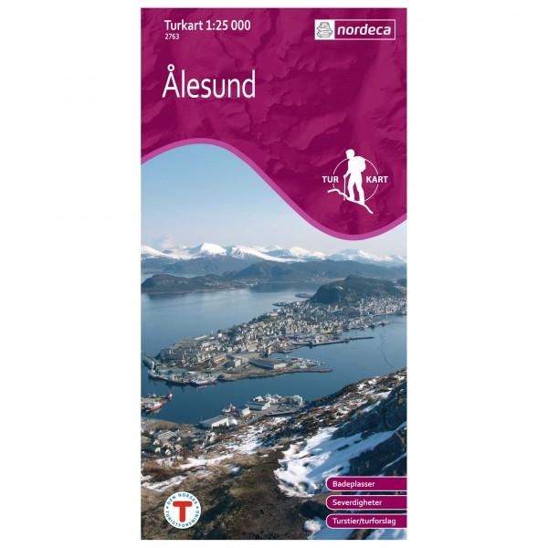 Nordeca - Wander-Outdoorkarte: Alesund 1/25 - Turkart