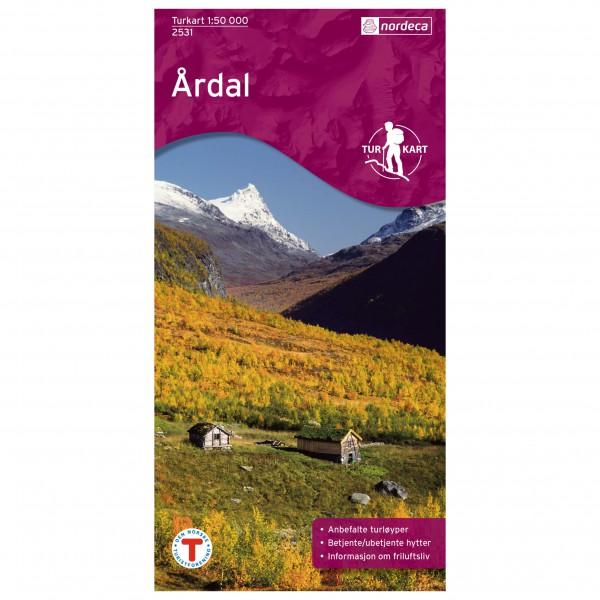 Wander-Outdoorkarte:  …rdal 1/50 - Hiking map