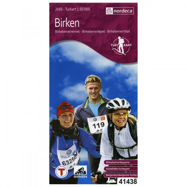 Nordeca - Wander-Outdoorkarte: Birken 1/50