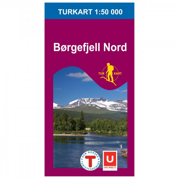 Nordeca - Wander-Outdoorkarte: Børgefjell Nord 1/50 - Vaelluskartat