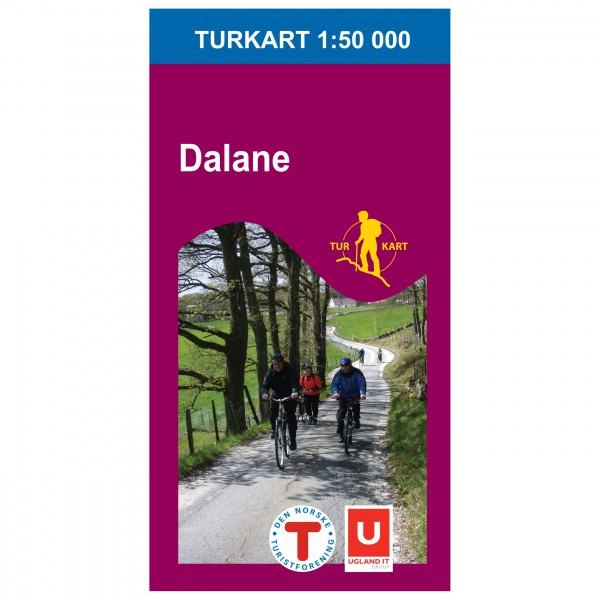 Nordeca - Wander-Outdoorkarte: Dalane 1/50 - Hiking map