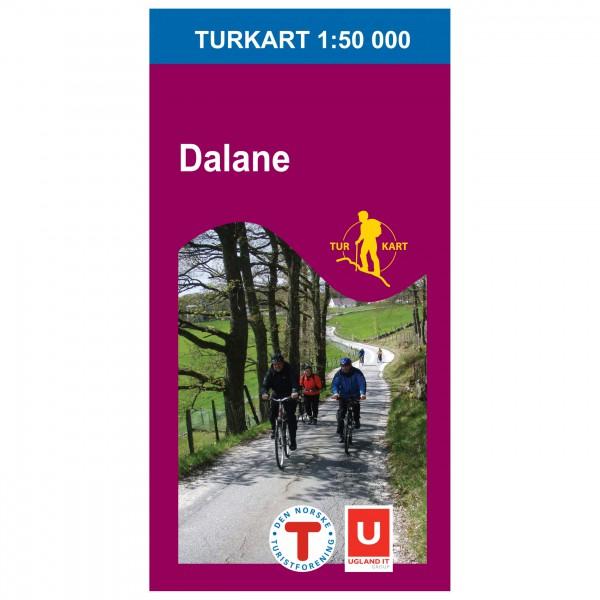 Nordeca - Wander-Outdoorkarte: Dalane 1/50 - Mapa de senderos