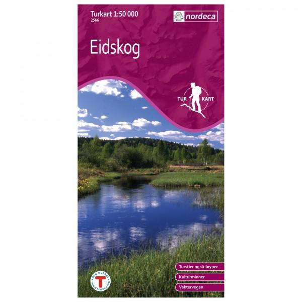 Nordeca - Wander-Outdoorkarte: Eidskog 1/50 - Wandelkaarten