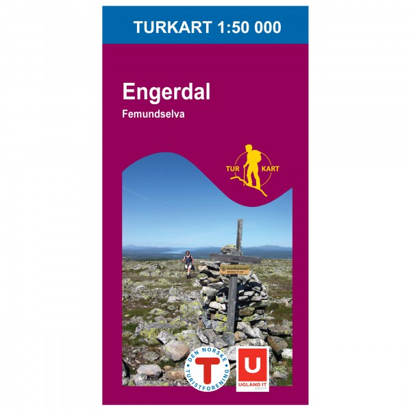 Nordeca - Wander-Outdoorkarte: Engerdal Femundselva 1/50 - Wandelkaarten