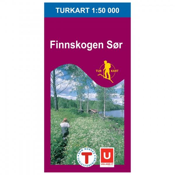 Nordeca - Wander-Outdoorkarte: Finnskogen Sør 1/50 - Wandelkaarten