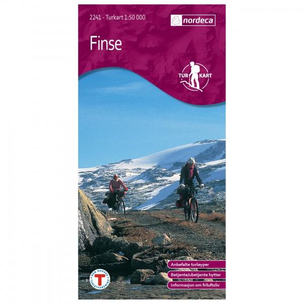 Nordeca - Wander-Outdoorkarte: Finse 1/50 - Vandringskartor