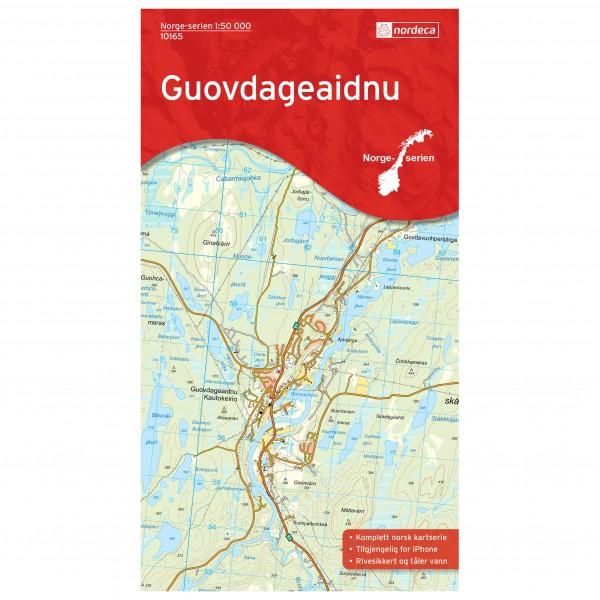 Nordeca - Wander-Outdoorkarte: Guovdageaidnu 1/50 - Wanderkarte