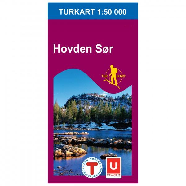 Nordeca - Wander-Outdoorkarte: Hovden Sør 1/50 - Wandelkaarten