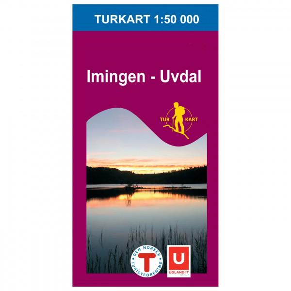 Nordeca - Wander-Outdoorkarte: Imingen Uvdal 1/50 - Vandringskartor