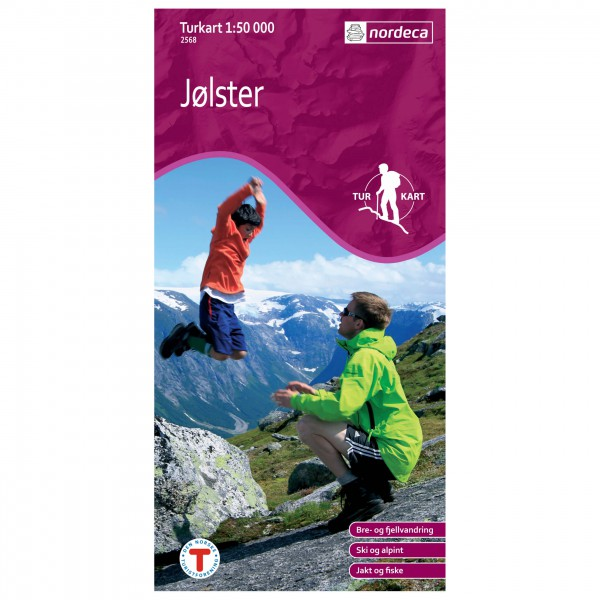 Nordeca - Wander-Outdoorkarte: Jølster 1/50 - Hiking map