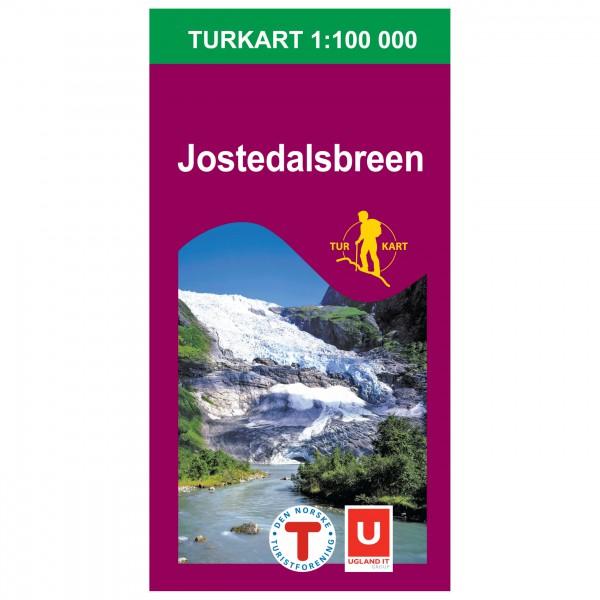 Nordeca - Wander-Outdoorkarte: Jostedalsbreen 1/100 - Vandringskartor