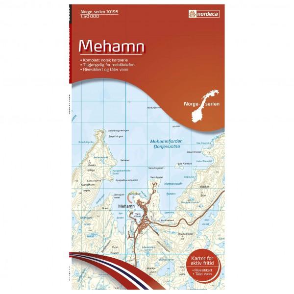 Nordeca - Wander-Outdoorkarte: Mehamn 1/50 - Vandrekort