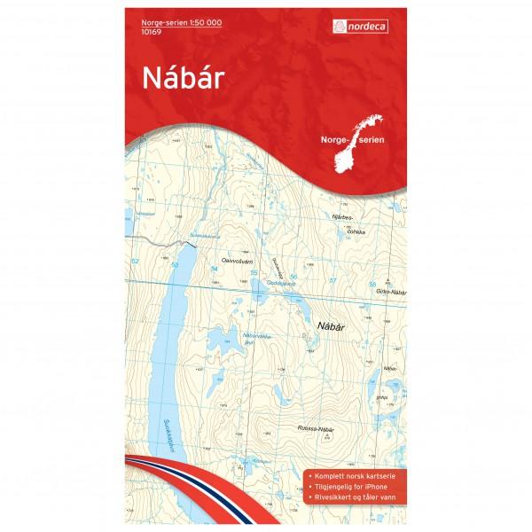 Nordeca - Wander-Outdoorkarte: Nabar 1/50 - Vandringskartor