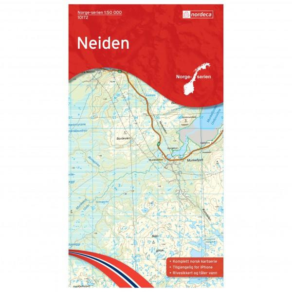 Nordeca - Wander-Outdoorkarte: Neiden 1/50