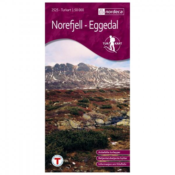Nordeca - Wander-Outdoorkarte: Norefjell-Eggedal 1/50 - Turkart
