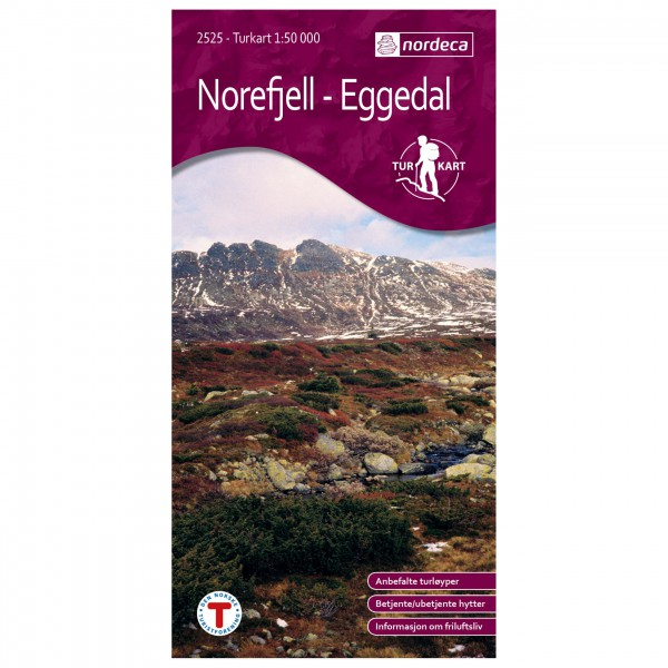 Nordeca - Wander-Outdoorkarte: Norefjell-Eggedal 1/50 - Wandelkaarten