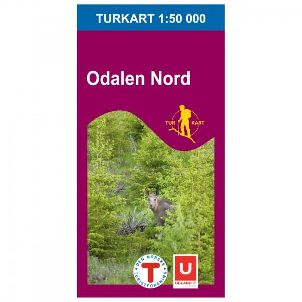 Wander-Outdoorkarte: Odalen Nord 1/50 - Hiking map