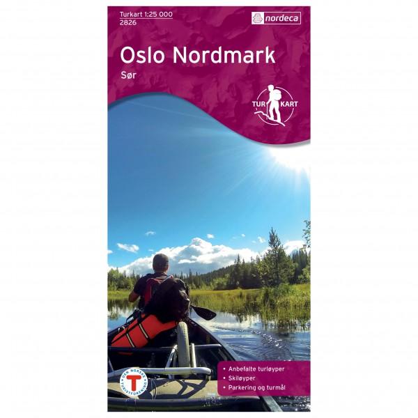 Nordeca - Wander-Outdoorkarte: Oslo Nordmark Sør 1/25 - Mapa de senderos