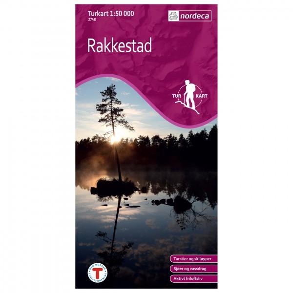 Nordeca - Wander-Outdoorkarte: Rakkestad 1/50 - Vaelluskartat