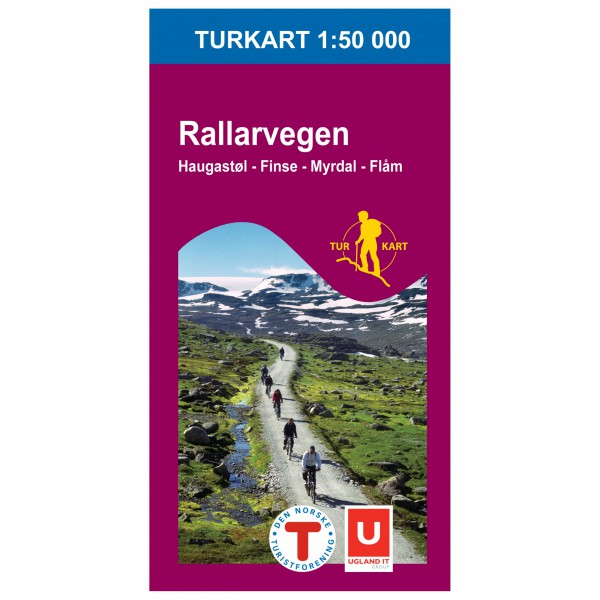 Nordeca - Wander-Outdoorkarte: Rallarvegen 1/50 - Vandrekort