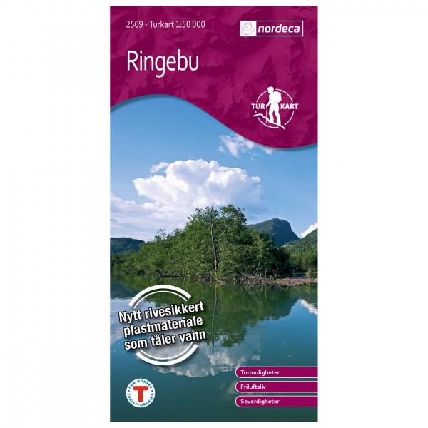 Nordeca - Wander-Outdoorkarte: Ringebu 1/50 - Turkart
