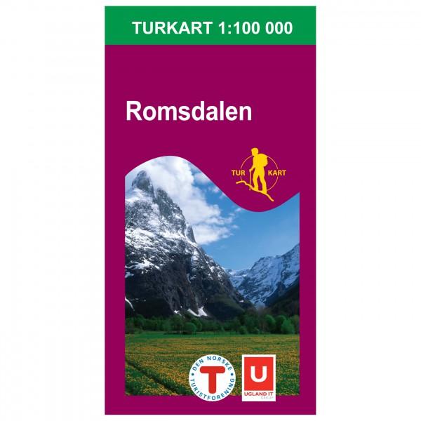 Nordeca - Wander-Outdoorkarte: Romsdalen 1/100 - Vandringskartor