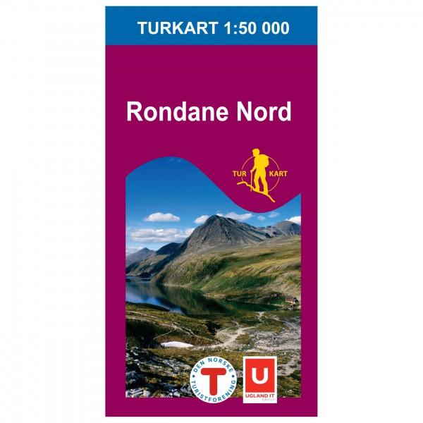 Nordeca - Wander-Outdoorkarte: Rondane Nord 1/50 - Hiking map