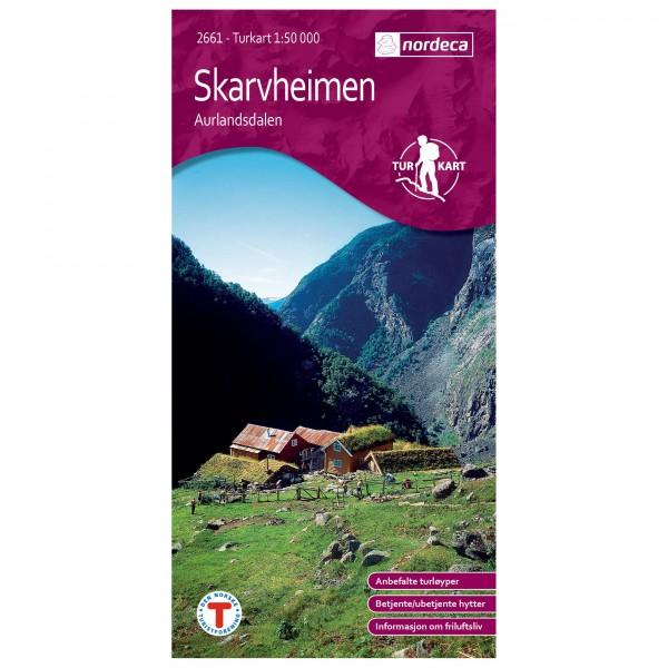 Nordeca - Wander-Outdoorkarte: Skarvheimen 1/50 - Wandelkaart