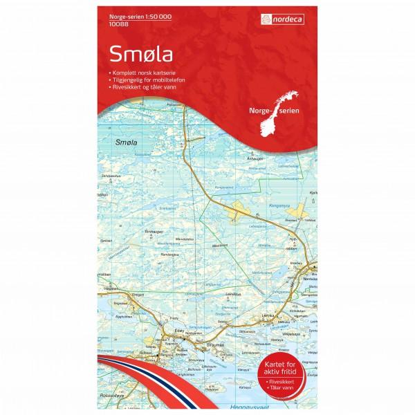 Nordeca - Wander-Outdoorkarte: Smøla 1/50 - Vaelluskartat