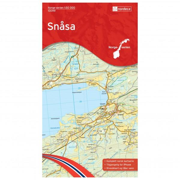 Nordeca - Wander-Outdoorkarte: Snasa 1/50 - Vandrekort