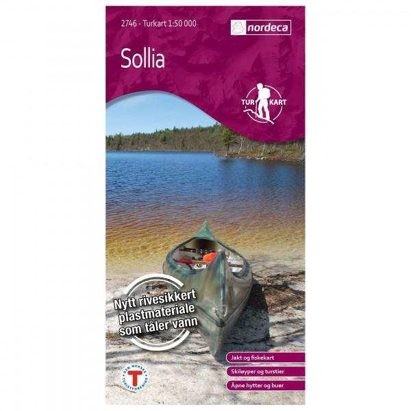 Nordeca - Wander-Outdoorkarte: Sollia 1/50 - Wandelkaarten