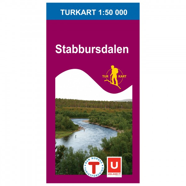 Nordeca - Wander-Outdoorkarte: Stabbursdalen 1/50 - Mapa de senderos