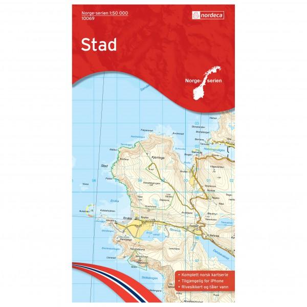 Nordeca - Wander-Outdoorkarte: Stad 1/50 - Turkart