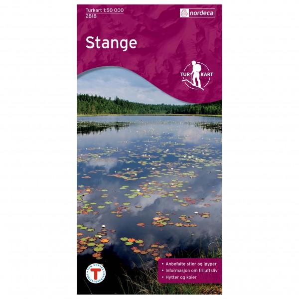 Nordeca - Wander-Outdoorkarte: Stange 1/50 - Vaelluskartat