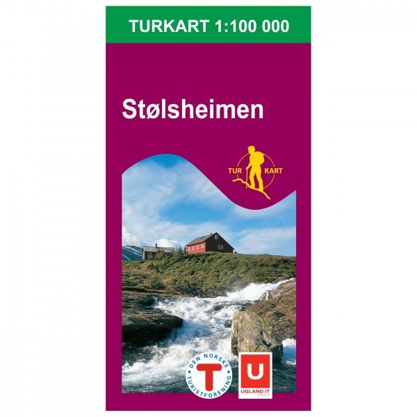 Nordeca - Wander-Outdoorkarte: Stølsheimen 1/100 - Mapa de senderos