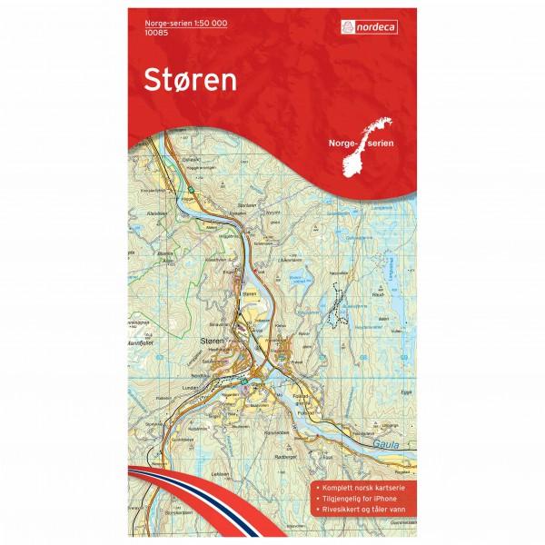 Nordeca - Wander-Outdoorkarte: Støren 1/50 - Turkart