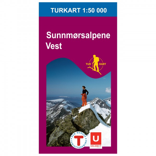 Nordeca - Wander-Outdoorkarte: Sunnmørsalpene Vest 1/50 - Wandelkaarten
