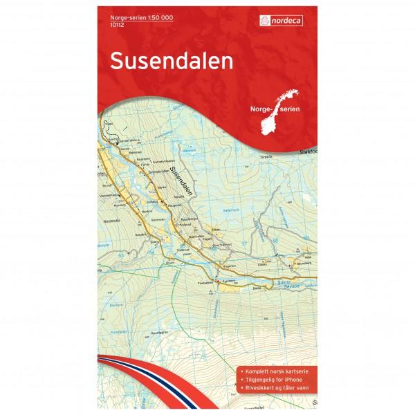 Nordeca - Wander-Outdoorkarte: Susendalen 1/50 - Hiking map