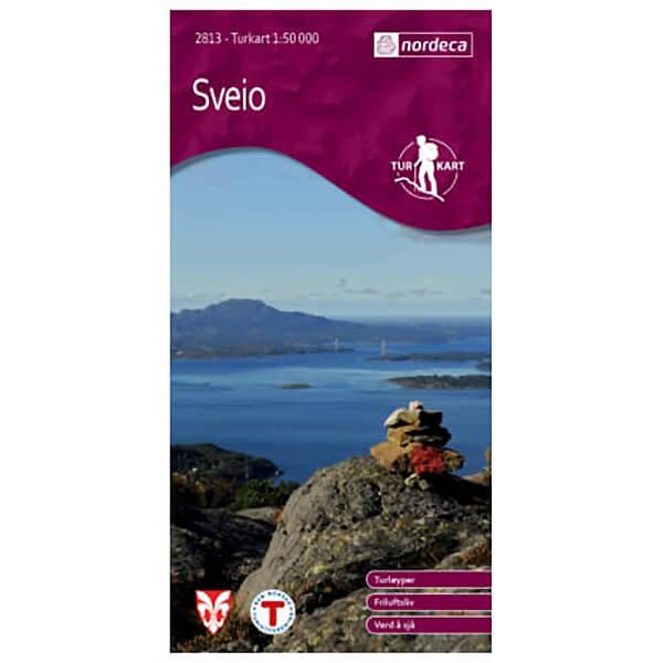 Nordeca - Wander-Outdoorkarte: Sveio 1/50 - Vandringskartor
