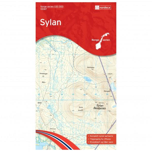 Nordeca - Wander-Outdoorkarte: Sylan 1/50 - Mapa de senderos