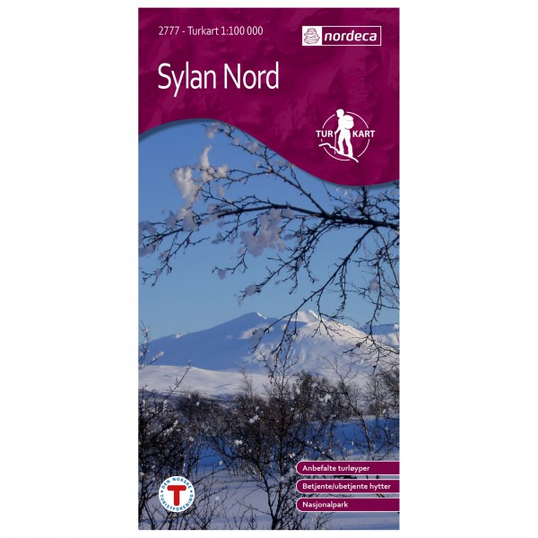 Nordeca - Wander-Outdoorkarte: Sylan Nord 1/100 - Vandringskartor