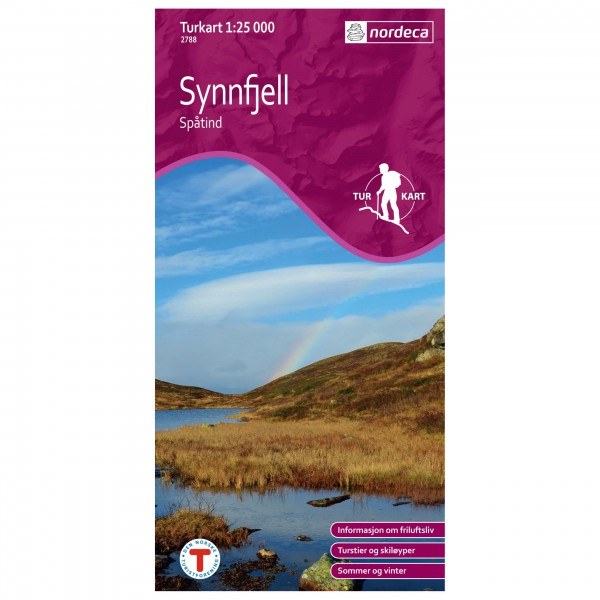 Nordeca - Wander-Outdoorkarte: Synnfjell - Vaelluskartat