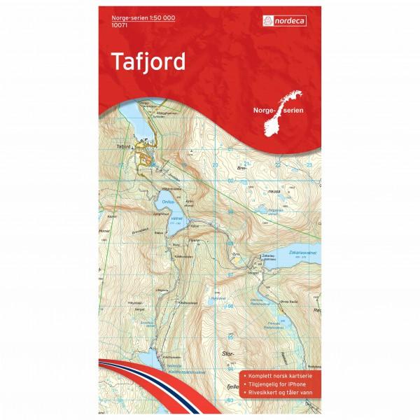 Nordeca - Wander-Outdoorkarte: Tafjord 1/50