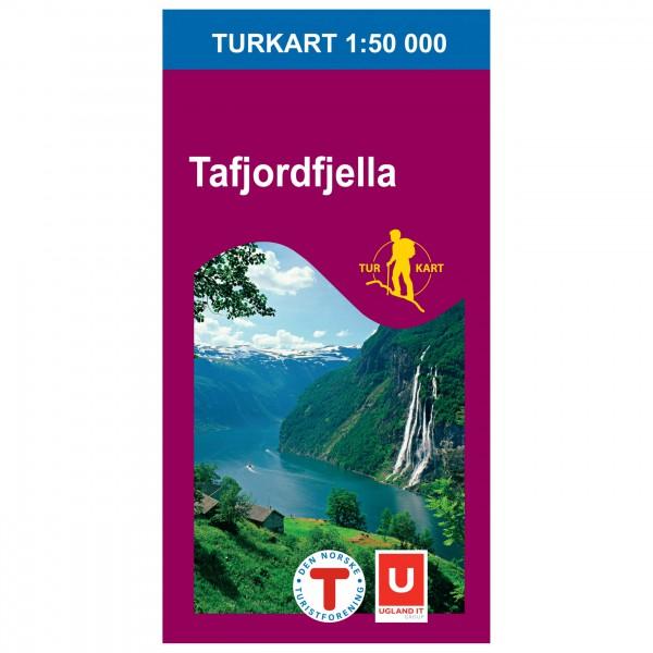 Nordeca - Wander-Outdoorkarte: Tafjordfjella 1/50
